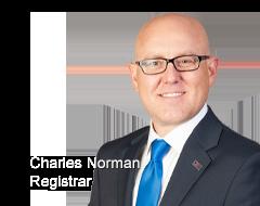 Registrar Charles Norman