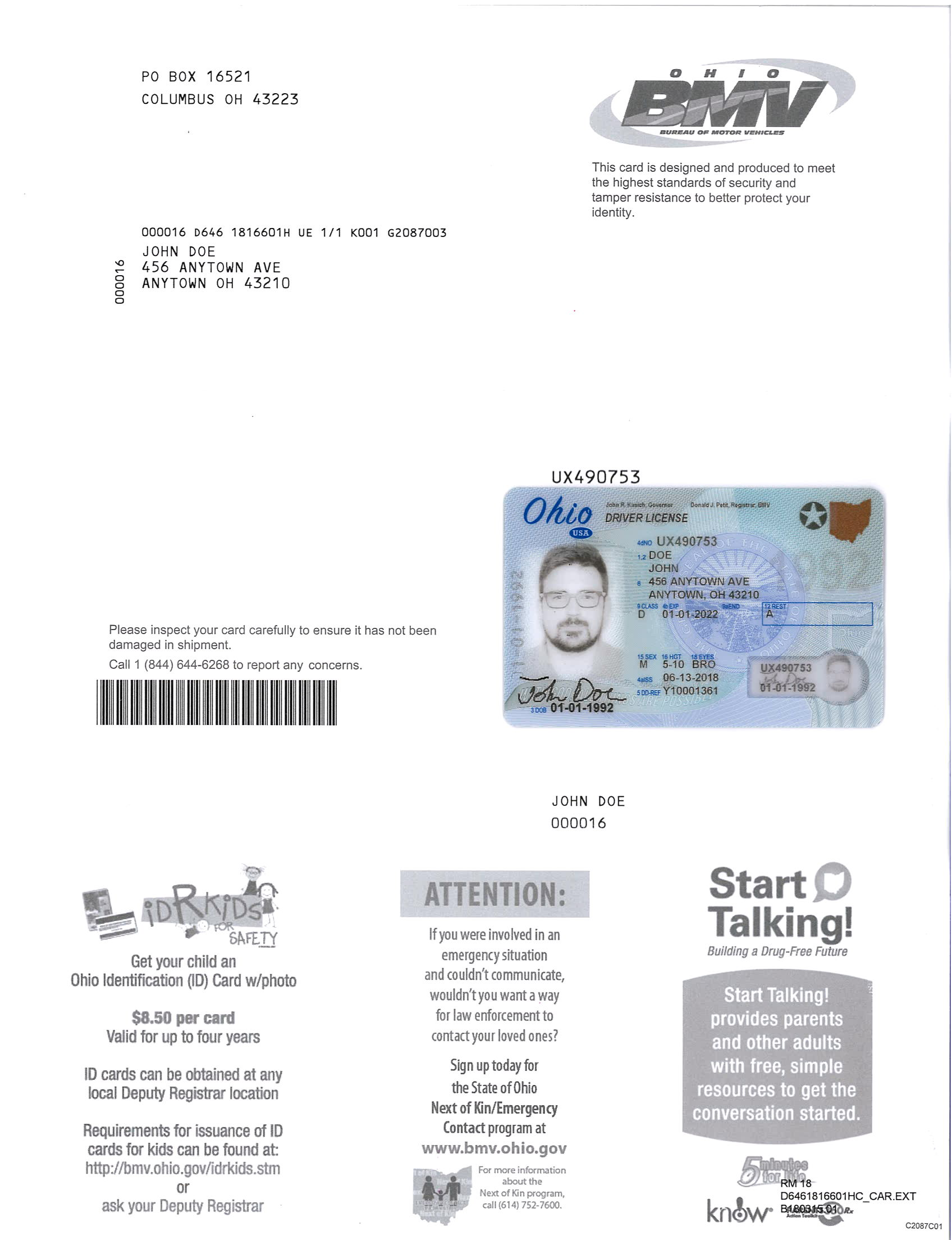 new driver license carrier